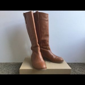 MADEWELL Brown Tall Leather boots 8.5 women's